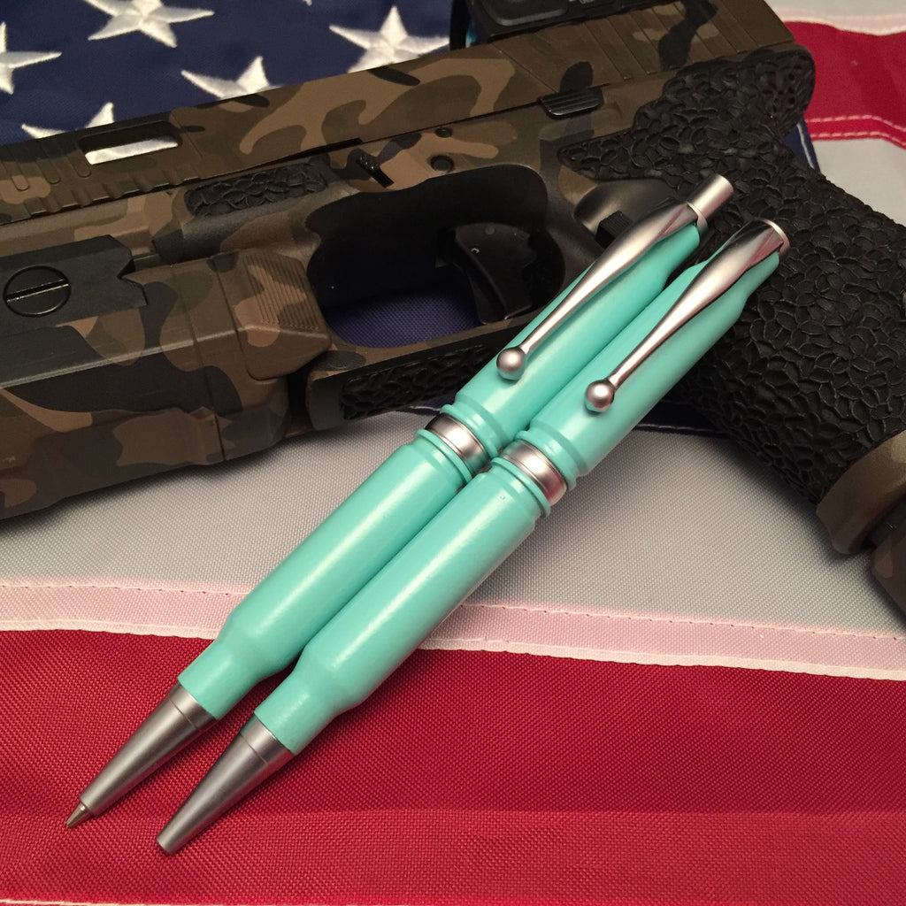 308 Tiffany Blue Pen and Pencil Set