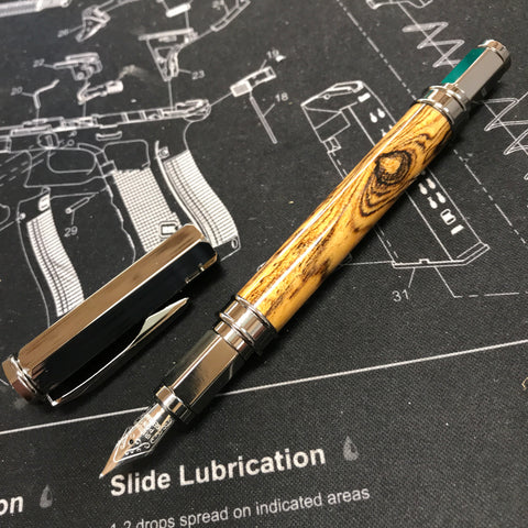 Bocote Wood Fountain Pen