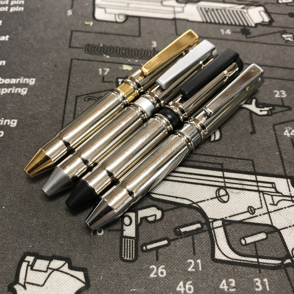 300 Blackout Nickel Concealed Carry Mini Pen