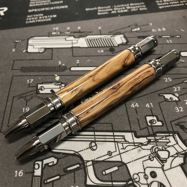 Olive Wood Fountain Pen