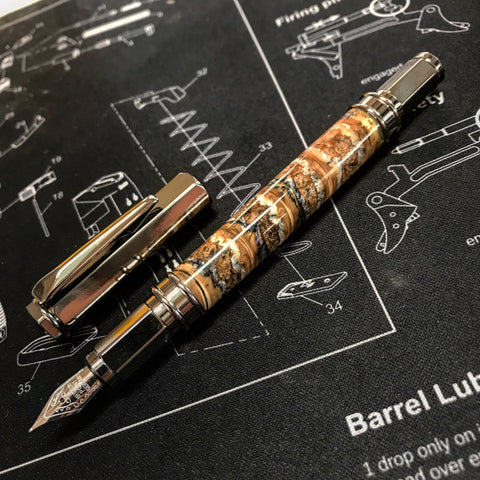 Wooly Mammoth Tooth Fountain Pen or Rollerball Pen