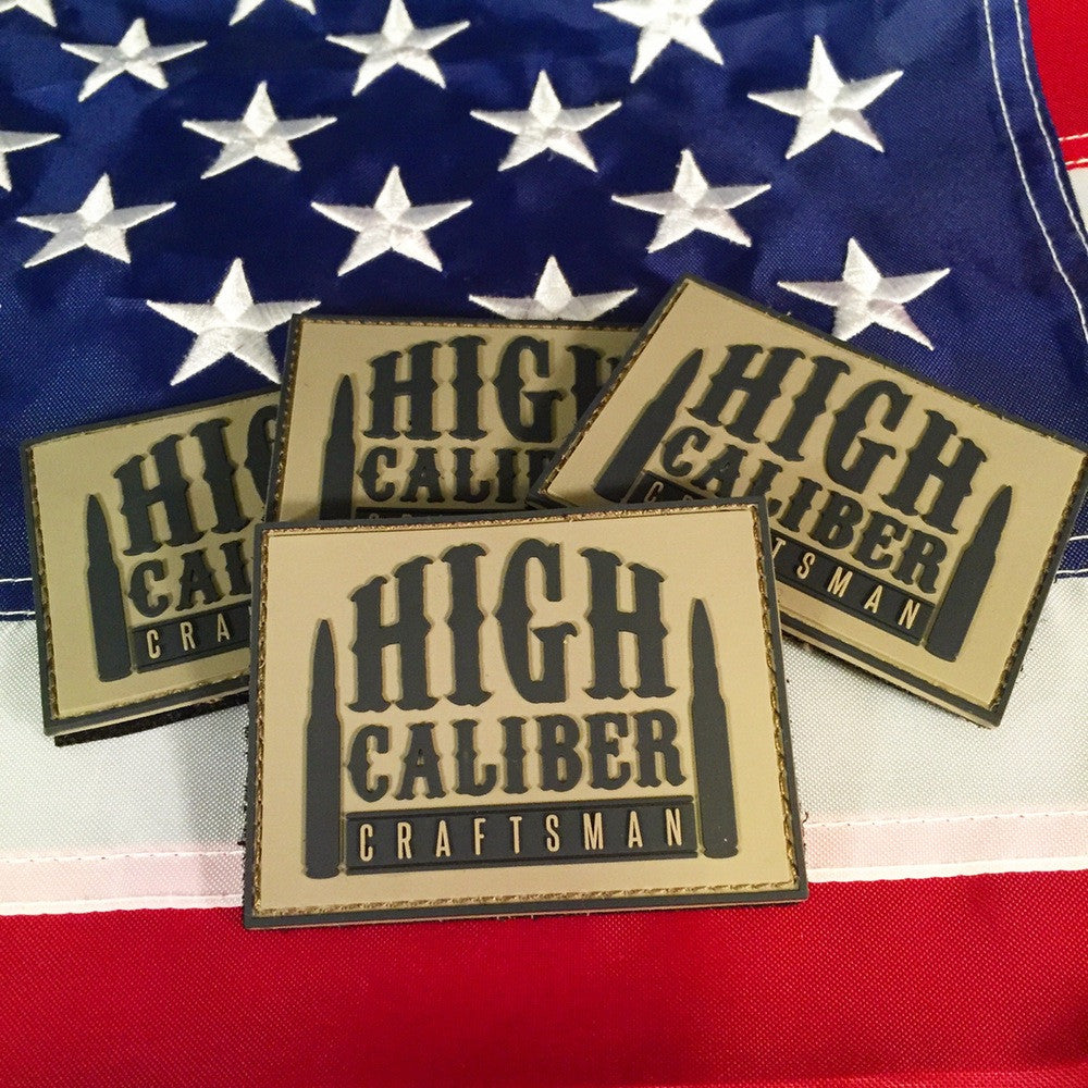 High Caliber Craftsman Morale PVC Patch