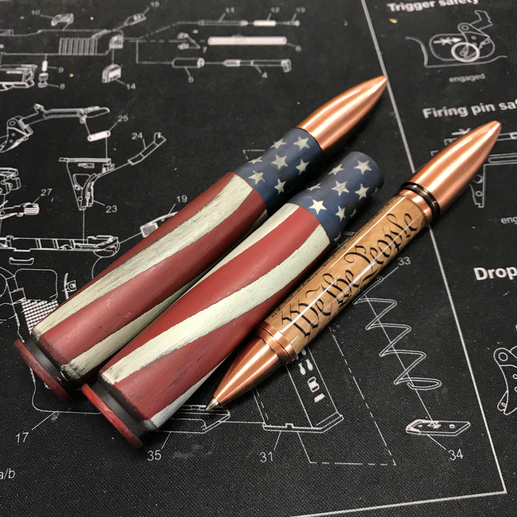 Battleworn We The People 50 cal Pen
