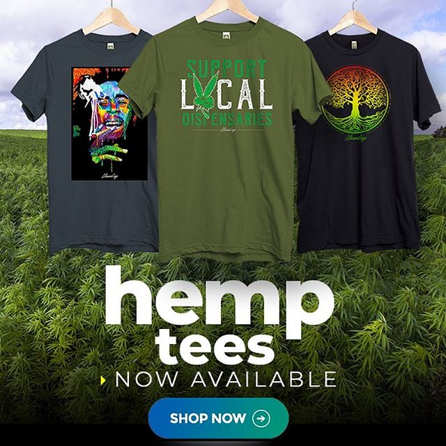 Hemp T-Shirts For Cannabis Connoisseurs Made With Love By StonerDays