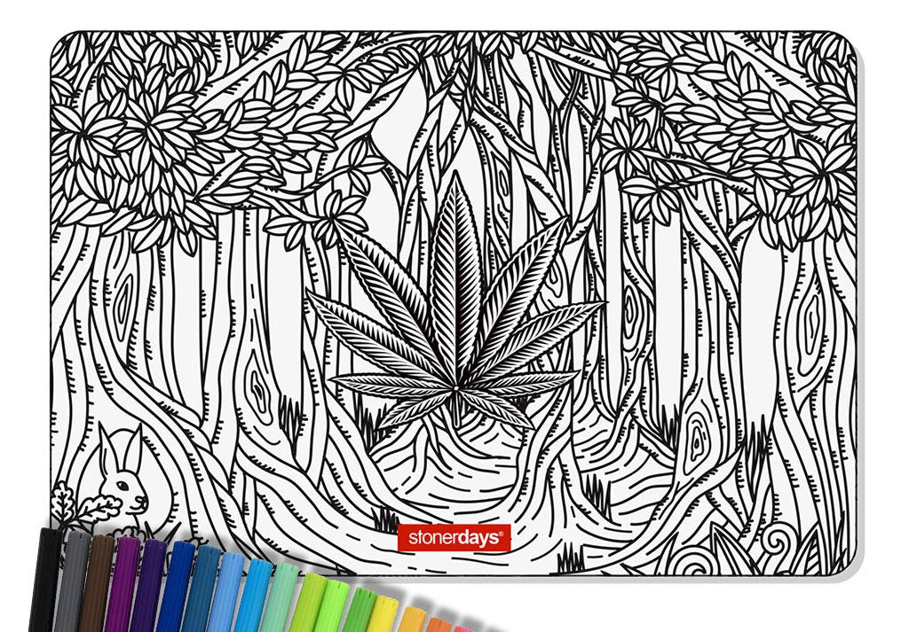 All NEW Creativity Mat Sets: The Coloring Book For Dabbers!