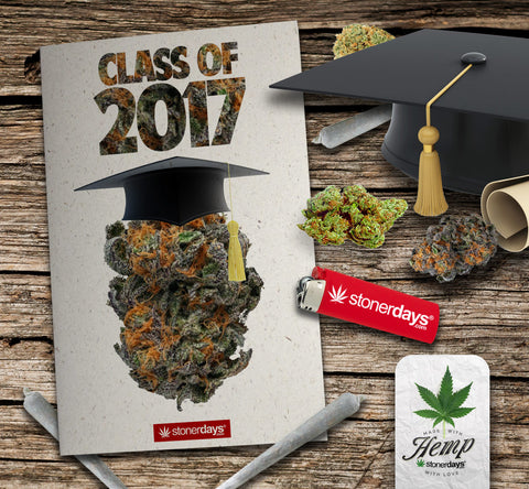 graduation hemp card
