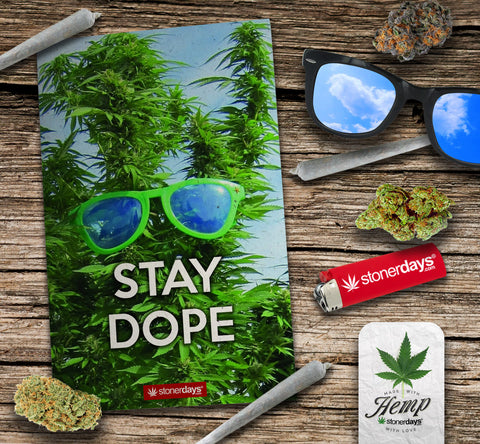stay dope cannabis hemp card