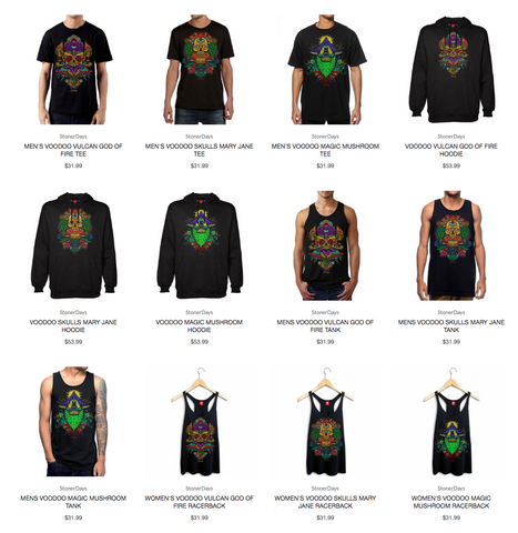 StonerDays Cannabis Apparel Signature Collection