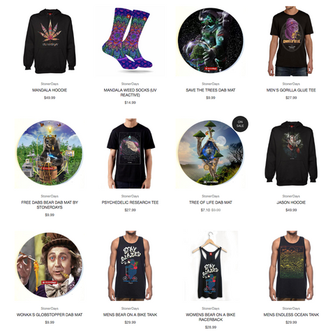 StonerDays cannabis apparel signature collection continues to raise the bar.