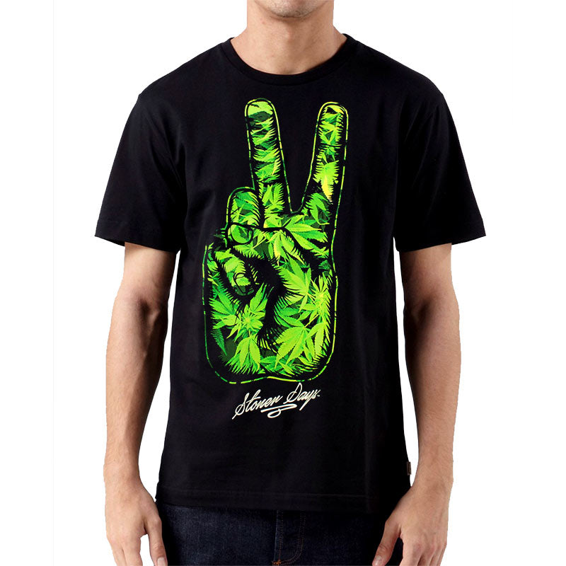 marijuana shirt peace sign