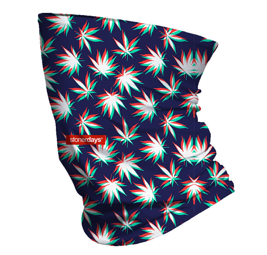 3D Trees Neck Gaiter