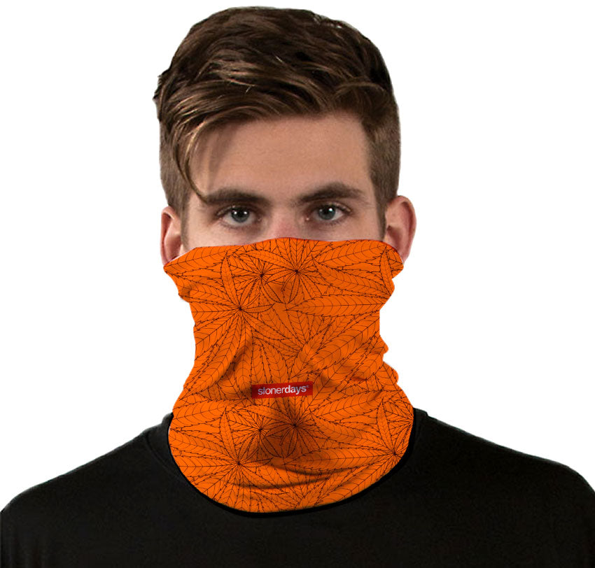 Autumn Leaves Neck Gaiter