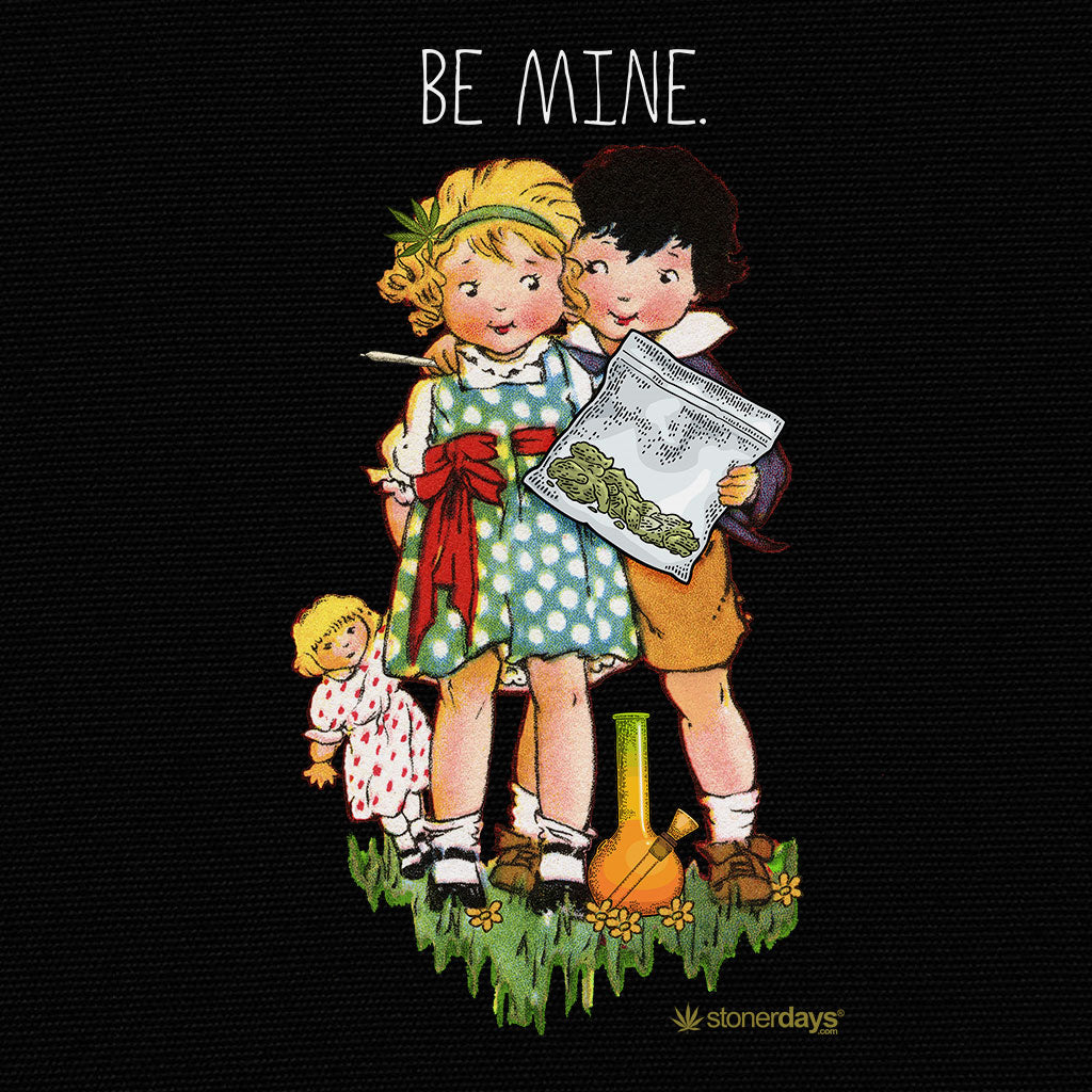 Be Mine Crop top Hoodie