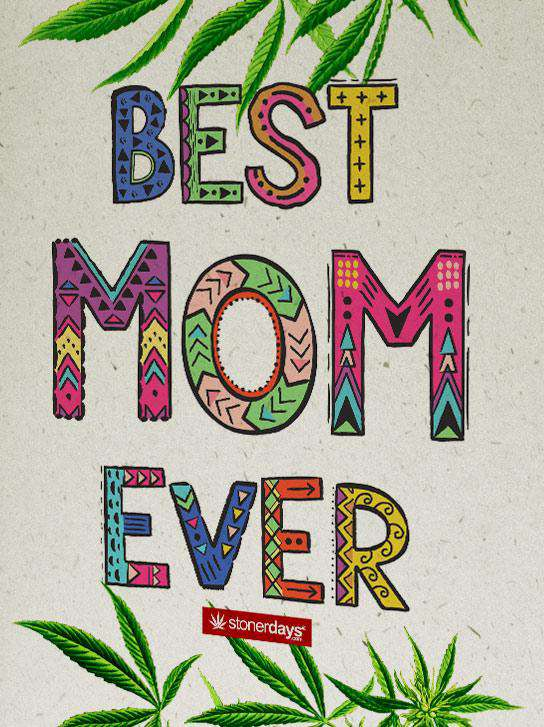 Best Mom Ever Hemp Card