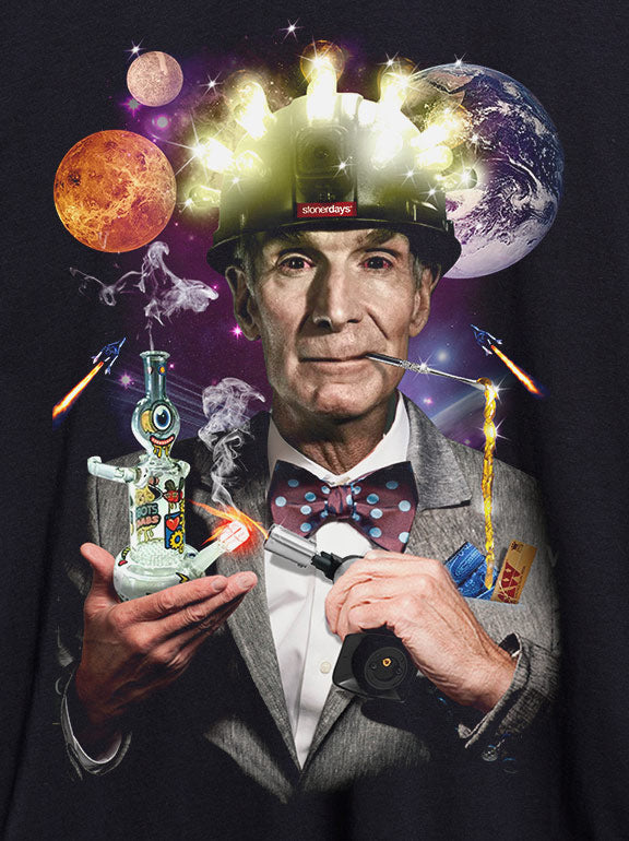 Bill Nye The Dabbing Guy Racerback