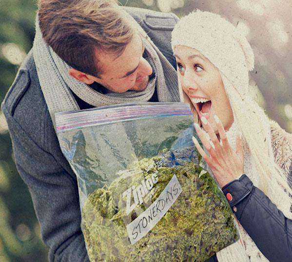MARIJUANA HEMP CARD: BOYFRIEND OF THE YEAR