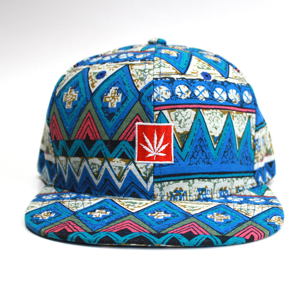 Blue Dream Aztec Snapback