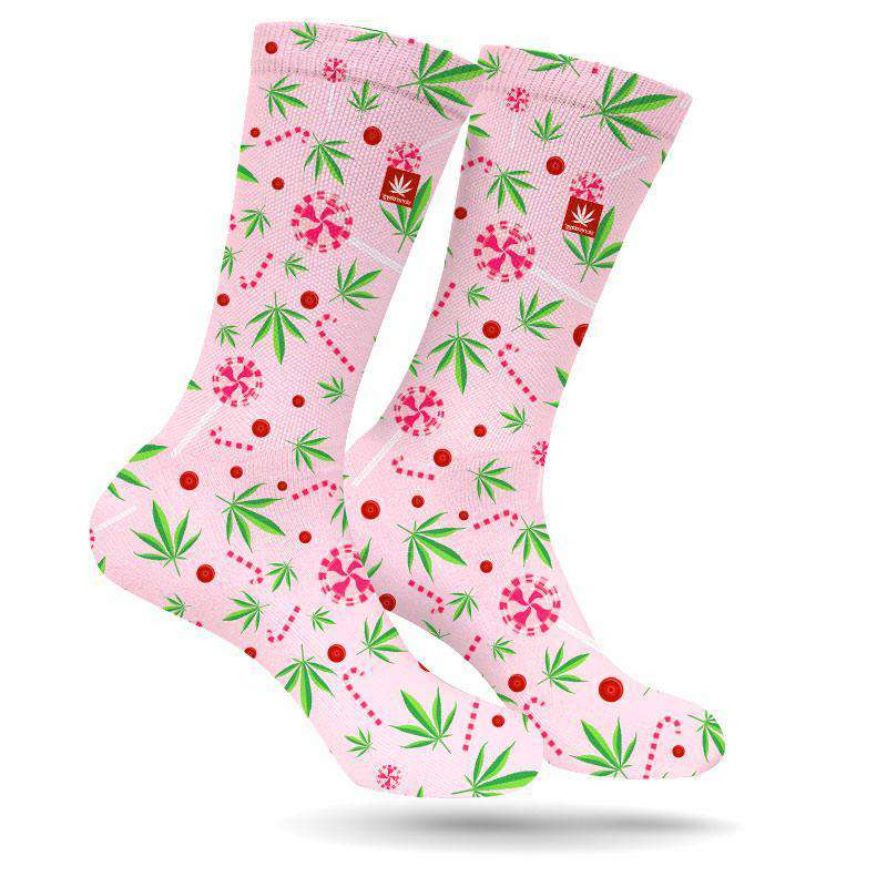 CANDY CANES AND KUSH WEED SOCKS