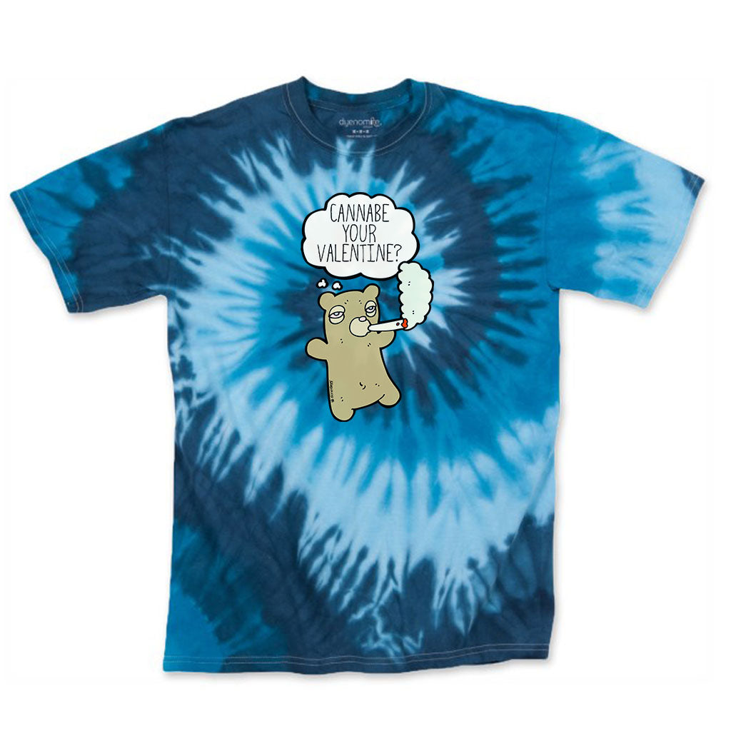 Cannabe Your Valentine Tie Dye