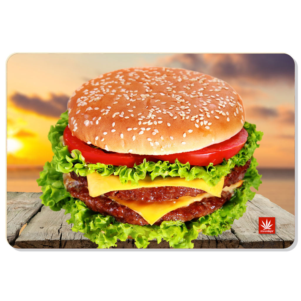 Cheeseburger In Paradise Dab Mat