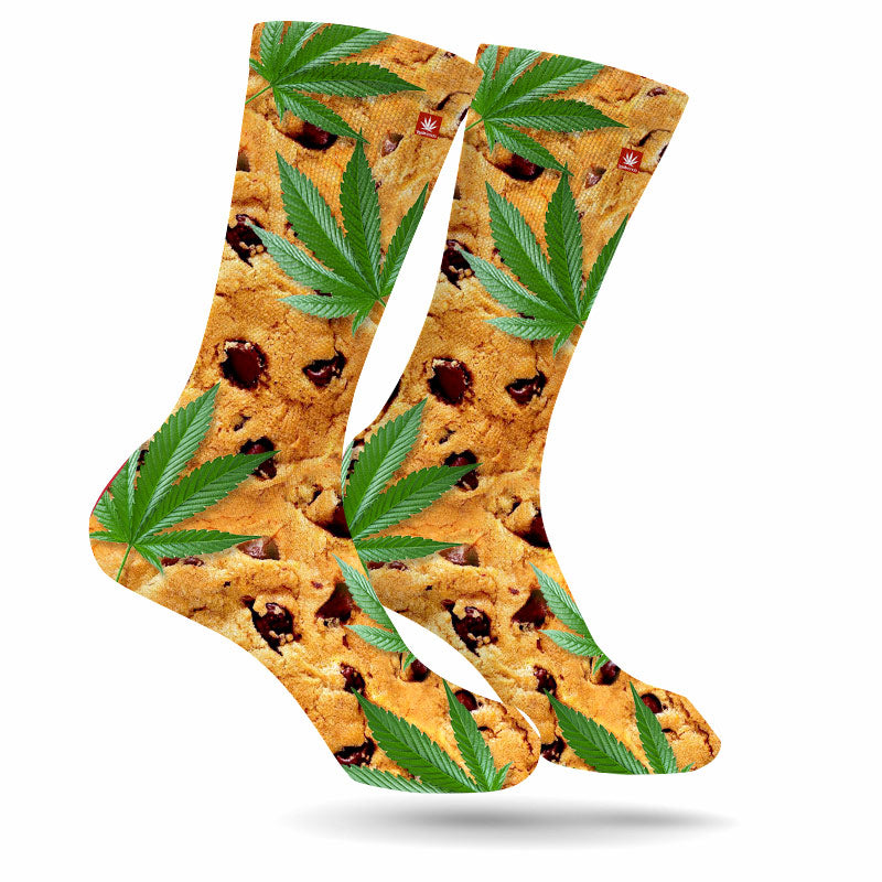 CHOCOLATE CHIP WEED SOCKS