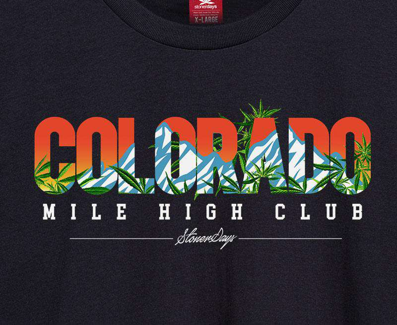 Men's Colorado Mile High Tee
