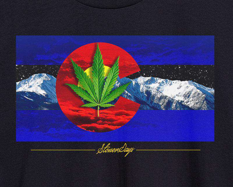 Men's Colorado Flag Tee
