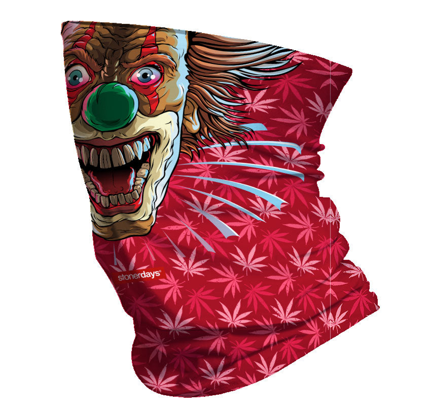 Crazy Clown Neck Gaiter