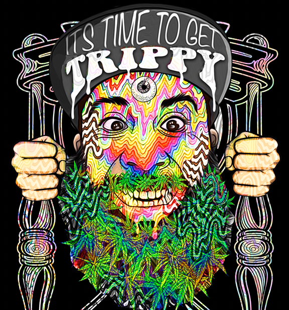 It's Time to Get Trippy Dab Mat