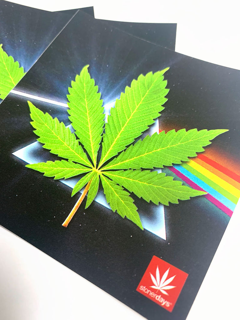 Dank Side Of The Moon Sticker (3 Pack)