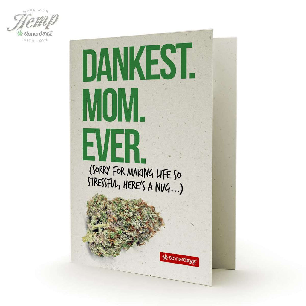 Dankest Mom Ever Hemp Card