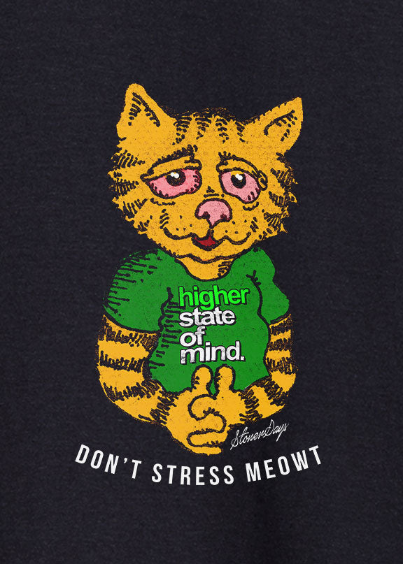 Don't Stress Meowt Hemp Tee