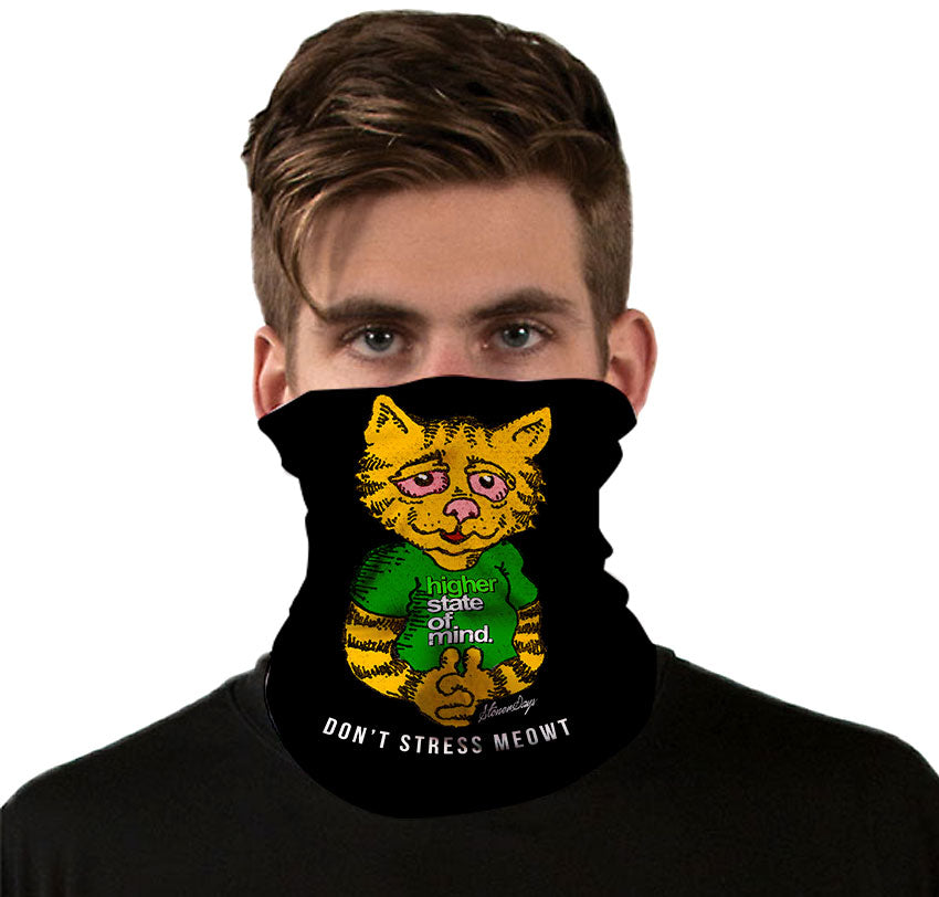 Dont Stress Meowt Gaiter