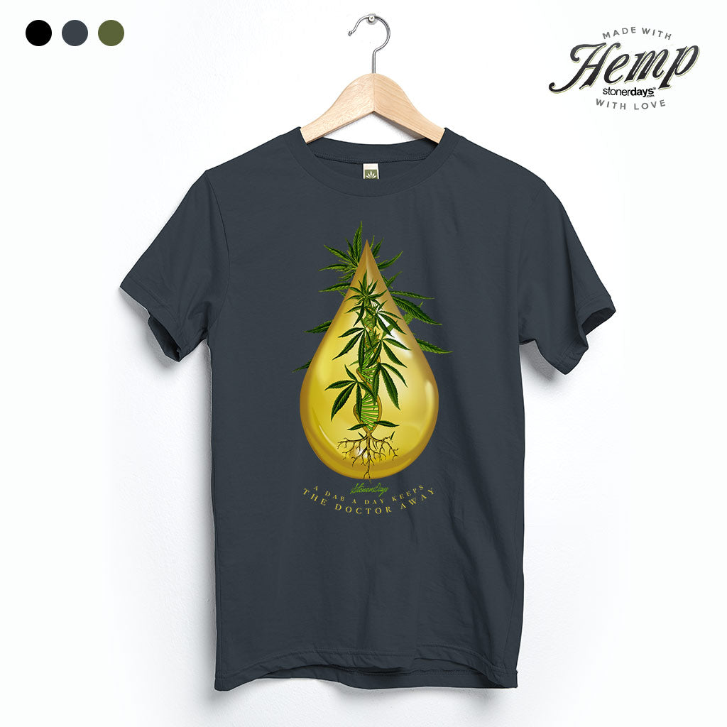 Drop a Day Hemp Tee