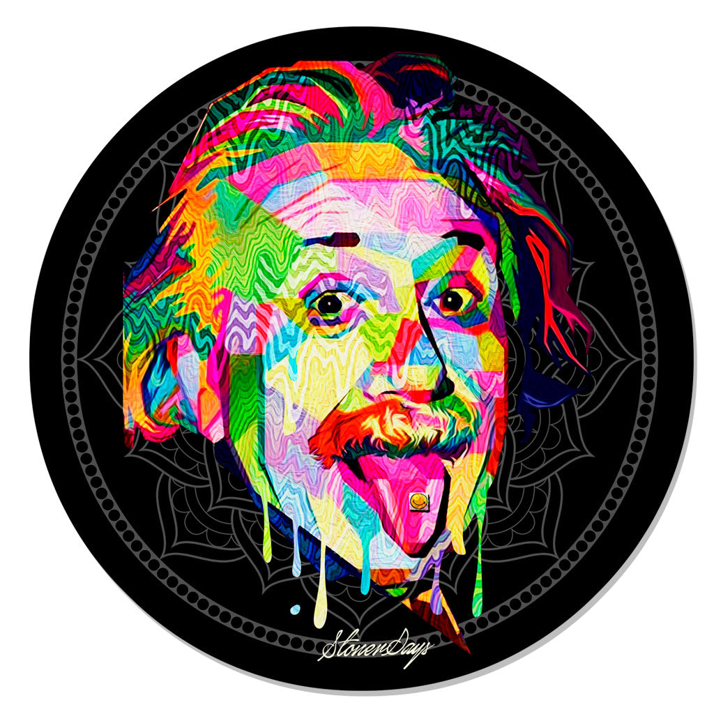 EINSTEIN FLOWER OF LIFE DAB MAT