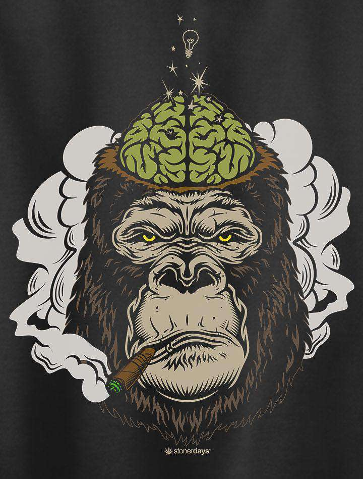 Enlightened Gorilla Crewneck Sweatshirt