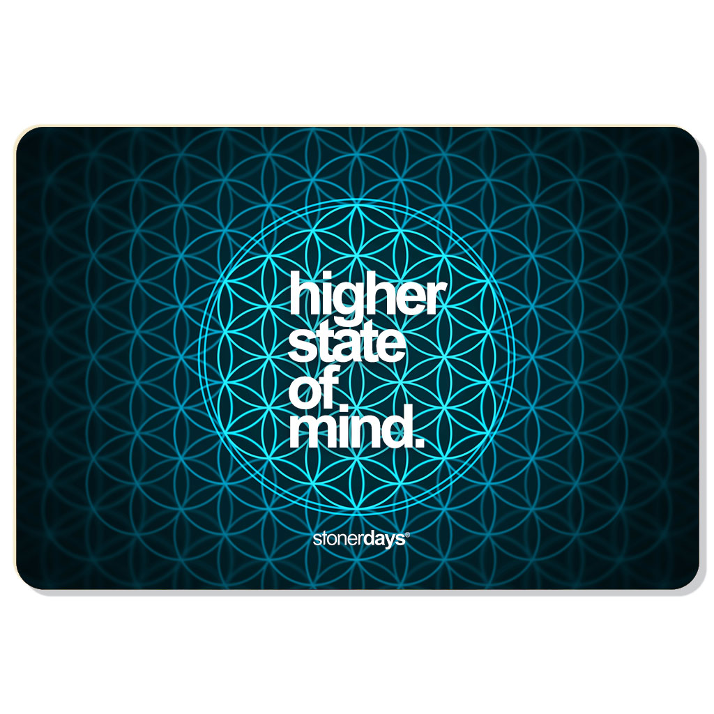 Flower Of Life Dab Mat