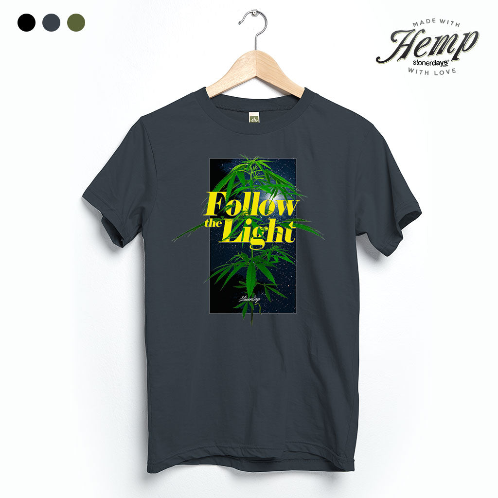 Follow The Light Hemp Tee