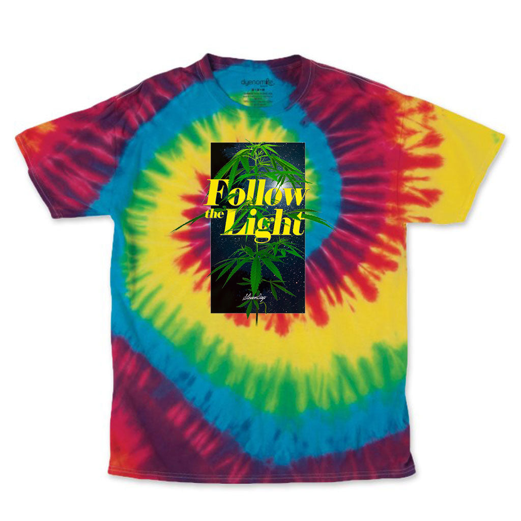 Follow The Light Tie Dye Tee