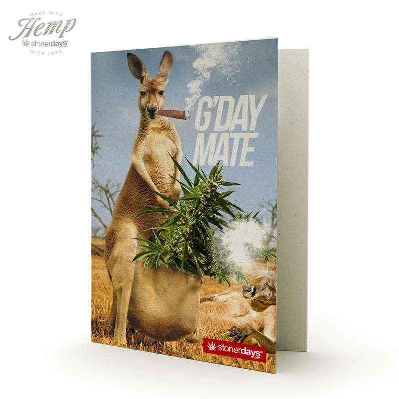 GDAY MATE HEMP CARDS