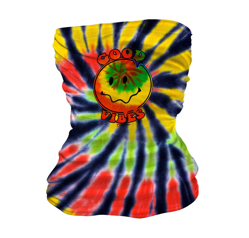 Good Vibes Happy Face Neck Gaiter
