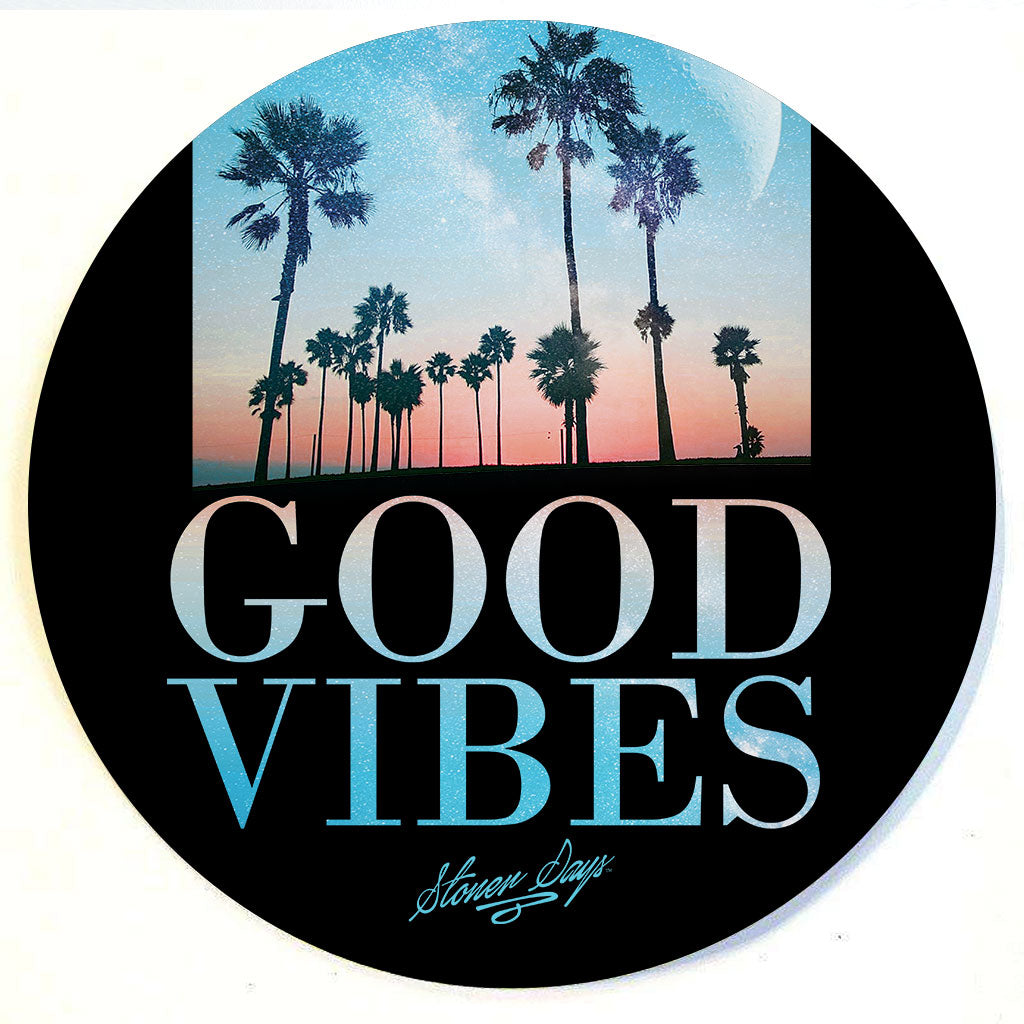 Good Vibes Throwback Dab Mat