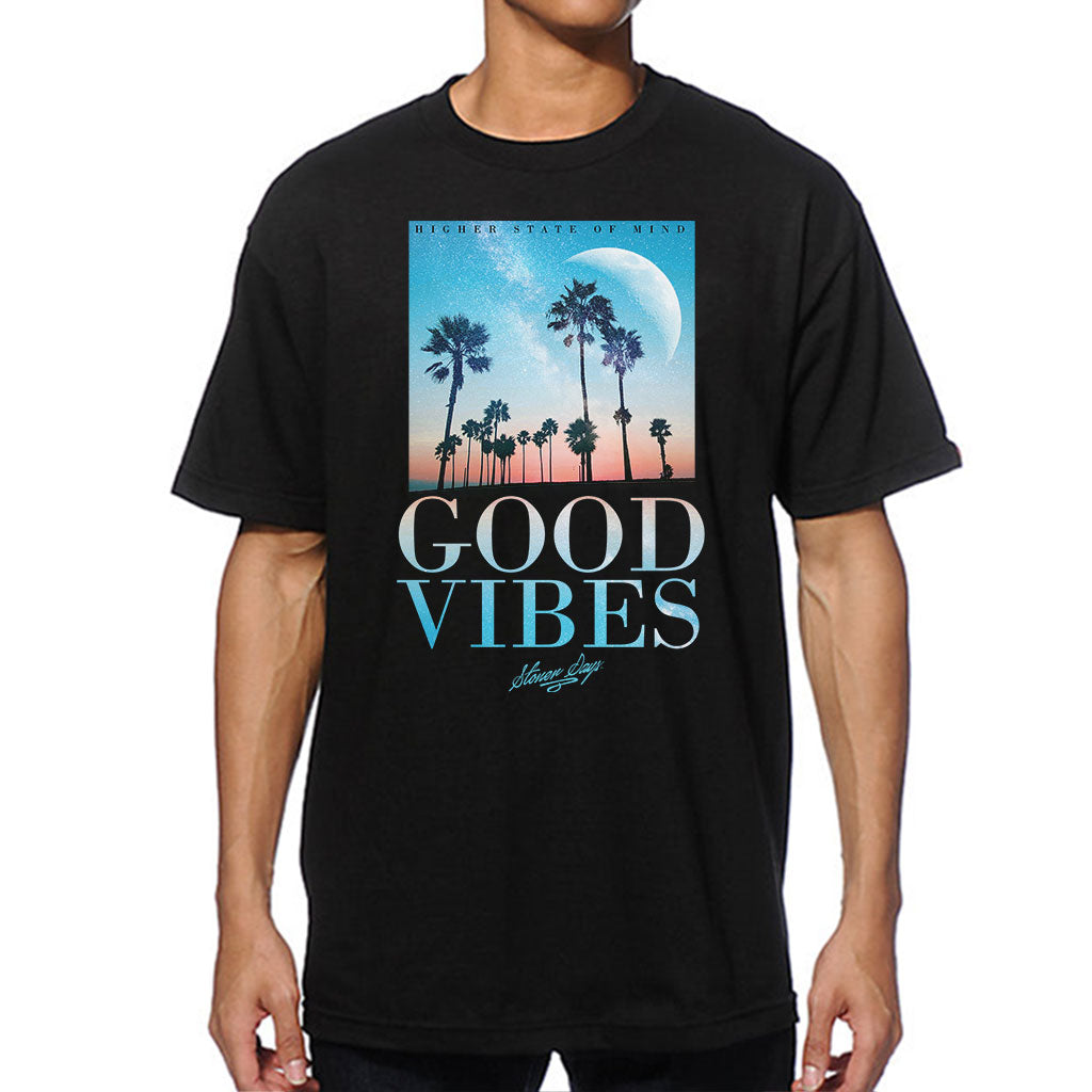 Good Vibes Throwback Tee