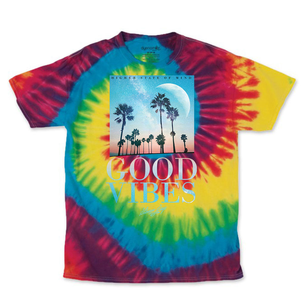 Good Vibes Throwback Tie-Dye