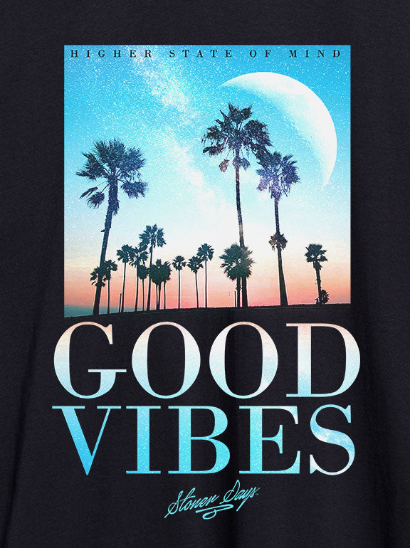 Good Vibes Throwback Hemp Tee