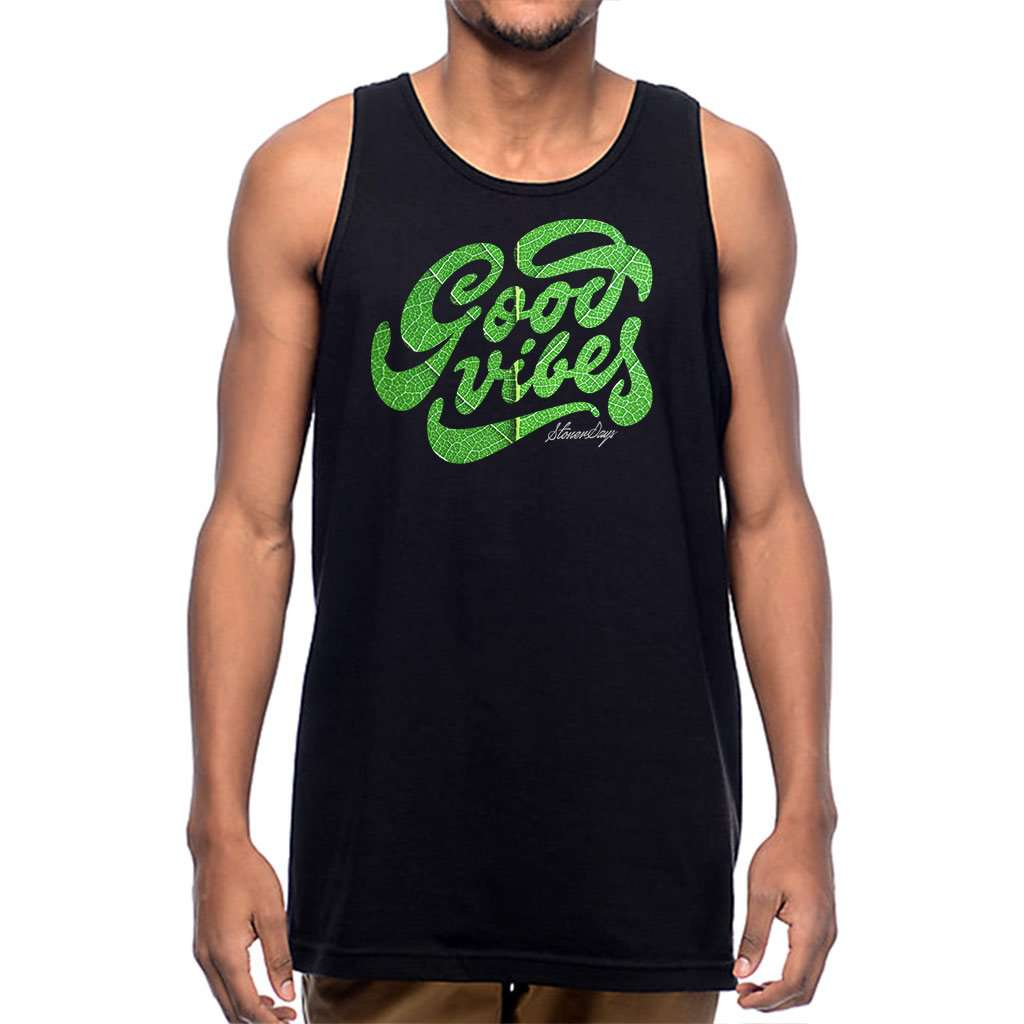 Mens Groovy Vibes Tank Top