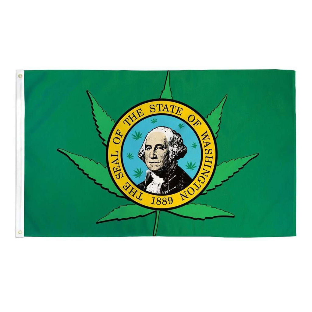 George Washington Cannabis Flag 3x5 Feet