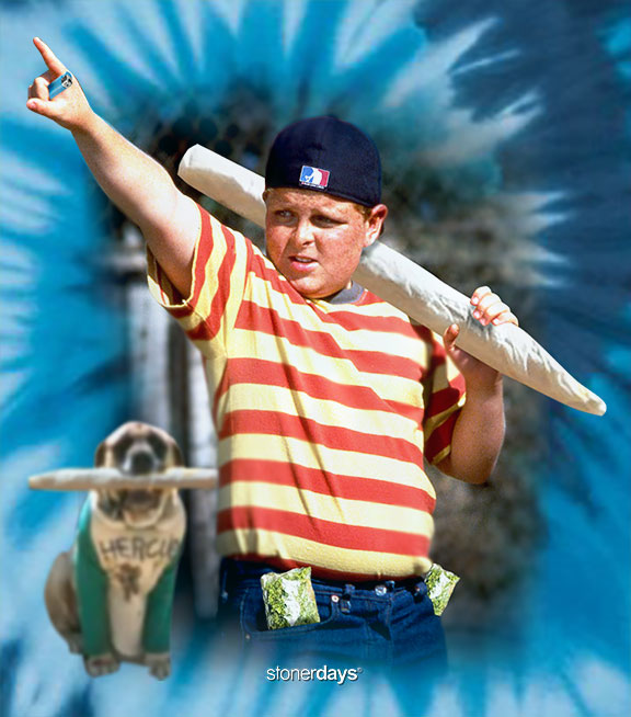 Great Bambino Blue Tie Dye Tee