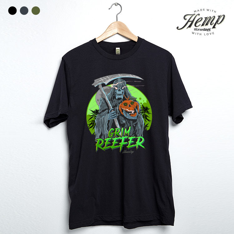 Grim Reefer Hemp Tee
