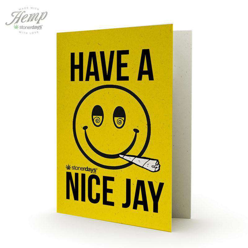 HAVE A NICE JAY HEMP CARDS